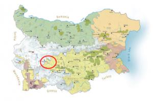 Vinkarta vinregioner västra thrakien